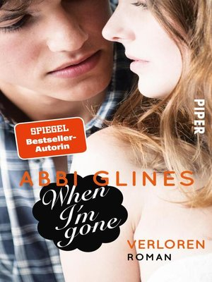 cover image of When I'm Gone – Verloren