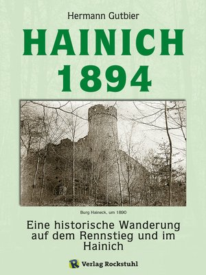 cover image of Der Hainich 1894