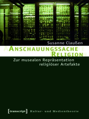 cover image of Anschauungssache Religion