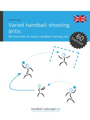 cover image of Varied handball shooting drills
