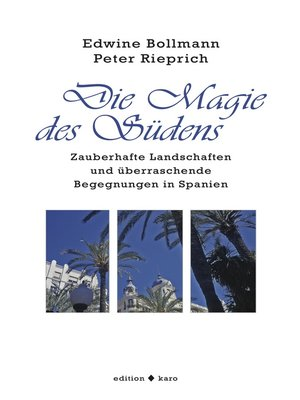 cover image of Die Magie des Südens