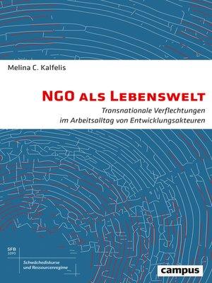cover image of NGO als Lebenswelt
