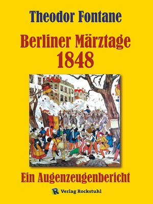 cover image of Berliner Märztage 1848