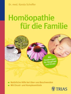 cover image of Homöopathie für die Familie