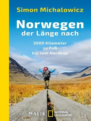 cover image of Norwegen der Länge nach