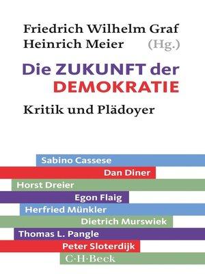 cover image of Die Zukunft der Demokratie
