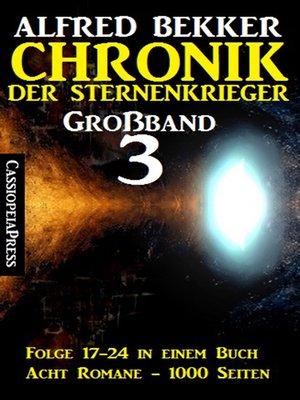 cover image of Chronik der Sternenkrieger Großband 3