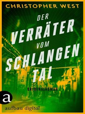 cover image of Der Verräter vom Schlangental