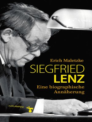 cover image of Siegfried Lenz