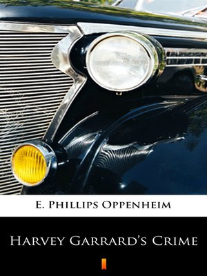 cover image of Harvey Garrard's Crime