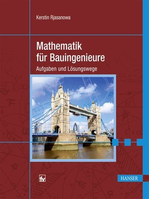 cover image of Mathematik für Bauingenieure