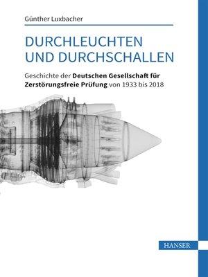cover image of Durchleuchten und Durchschallen