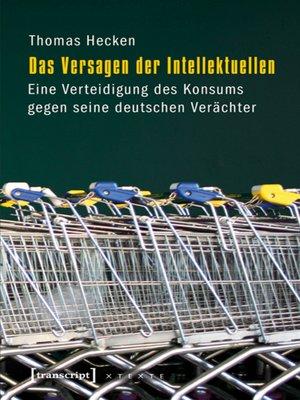 cover image of Das Versagen der Intellektuellen