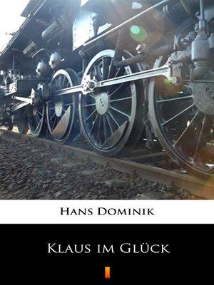cover image of Klaus im Glück