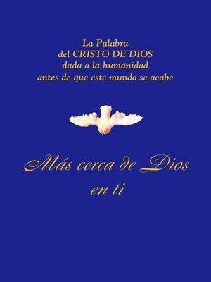 cover image of Más cerca de Dios en Ti