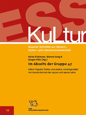 cover image of Im Abseits der Gruppe 47