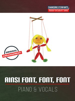 cover image of Ainsi font, font, font
