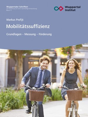 cover image of Mobilitätssuffizienz