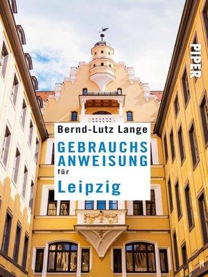 cover image of Gebrauchsanweisung für Leipzig