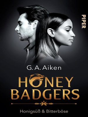 cover image of Serie Honey Badgers, Buch 1