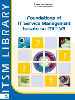 cover image of Foundations of IT Service Management Based on  ITIL® V3