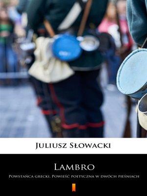 cover image of Lambro