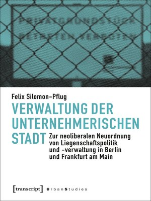 cover image of Verwaltung der unternehmerischen Stadt