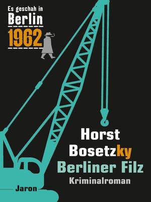 cover image of Berliner Filz