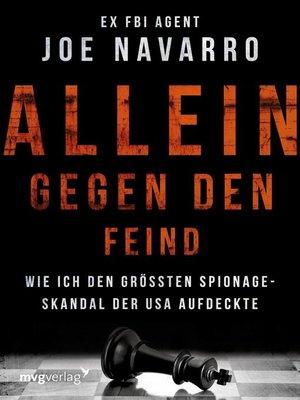 cover image of Allein gegen den Feind