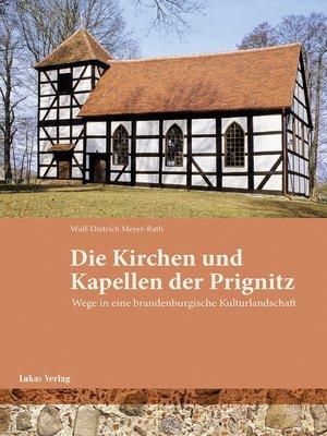 cover image of Kirchen und Kapellen der Prignitz