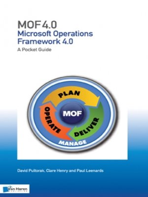 cover image of Microsoft Operations Framework 4.0