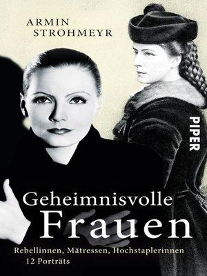cover image of Geheimnisvolle Frauen