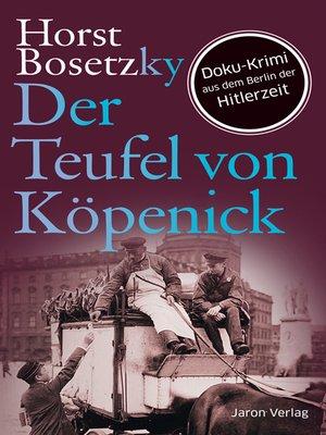 cover image of Der Teufel von Köpenick