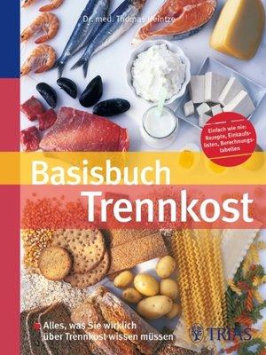 cover image of Basisbuch Trennkost