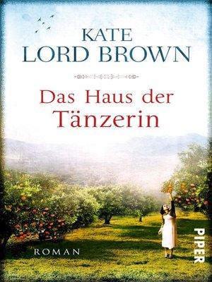 cover image of Das Haus der Tänzerin