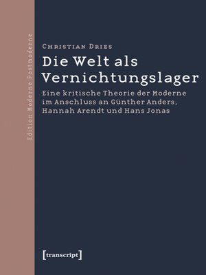 cover image of Die Welt als Vernichtungslager