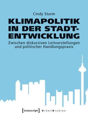 cover image of Klimapolitik in der Stadtentwicklung