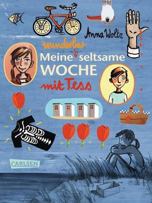 cover image of Meine wunderbar seltsame Woche mit Tess