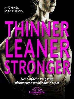 cover image of Thinner Leaner Stronger E-Book