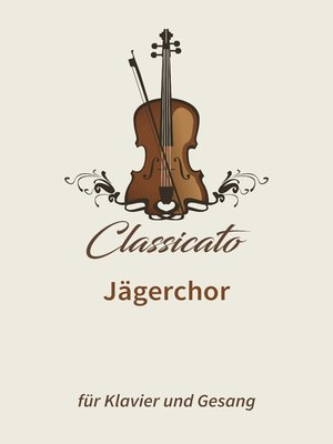 cover image of Jägerchor