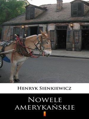 cover image of Nowele amerykańskie