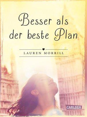cover image of Besser als der beste Plan