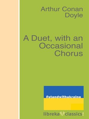 cover image of A Duet, with an Occasional Chorus