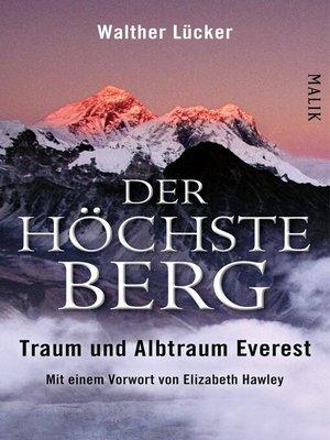 cover image of Der höchste Berg