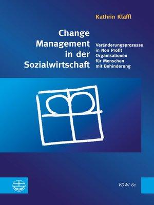 cover image of Change Management in der Sozialwirtschaft