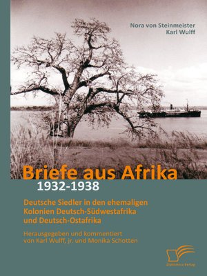 cover image of Briefe aus Afrika – 1932-1938