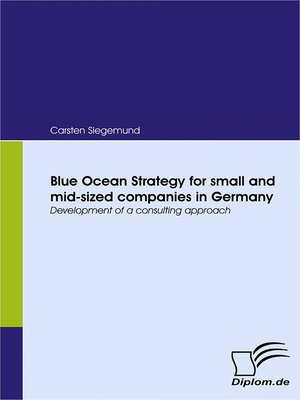 cover image of Blue Ocean Strategy for small and mid-sized companies in Germany