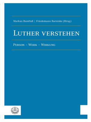 cover image of Luther verstehen