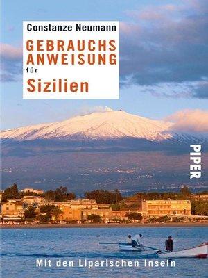 cover image of Gebrauchsanweisung für Sizilien