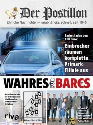 cover image of Der Postillon